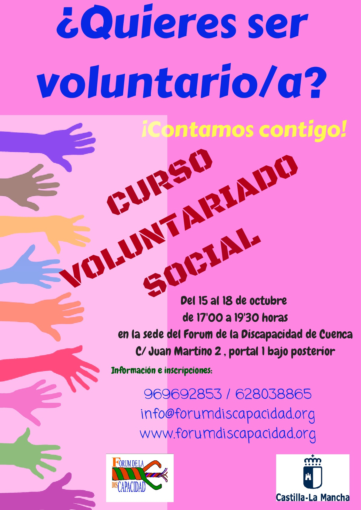 CARTEL CURSO VOLUNTARIADO SOCIAL 001